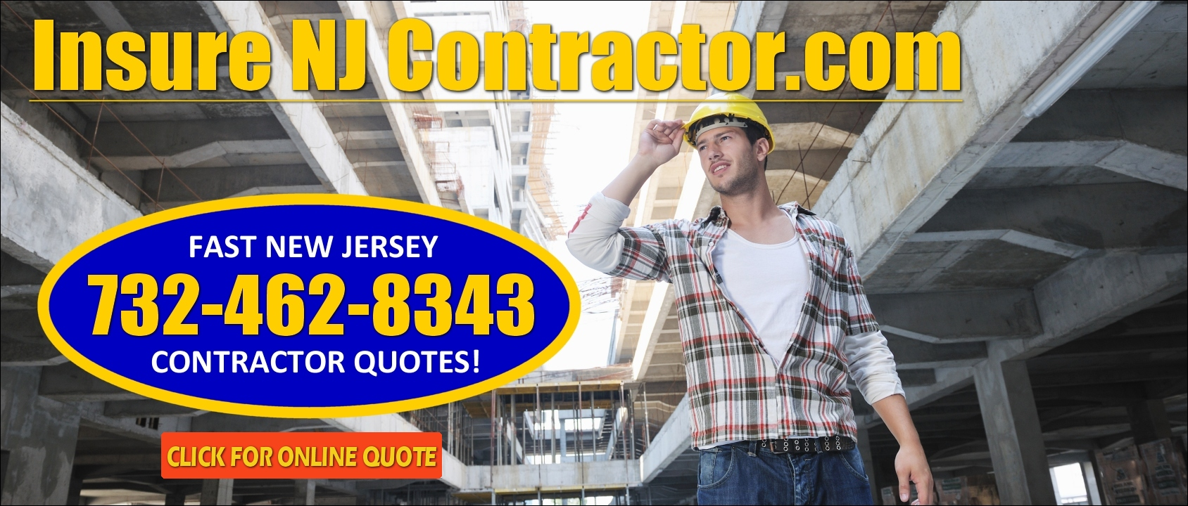 low cost contractor insurance quotes from InsureNJContractor.com